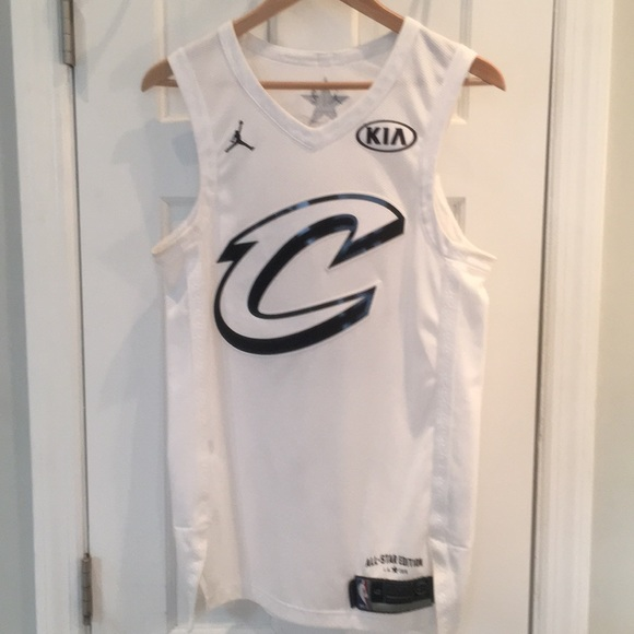 pretty nice a4bc6 4d5fd Authentic LeBron James 2018 All-Star jersey sz 40